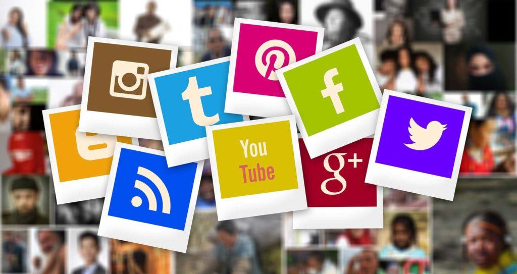 immagine di loghi dei social - i socials sono sufficienti